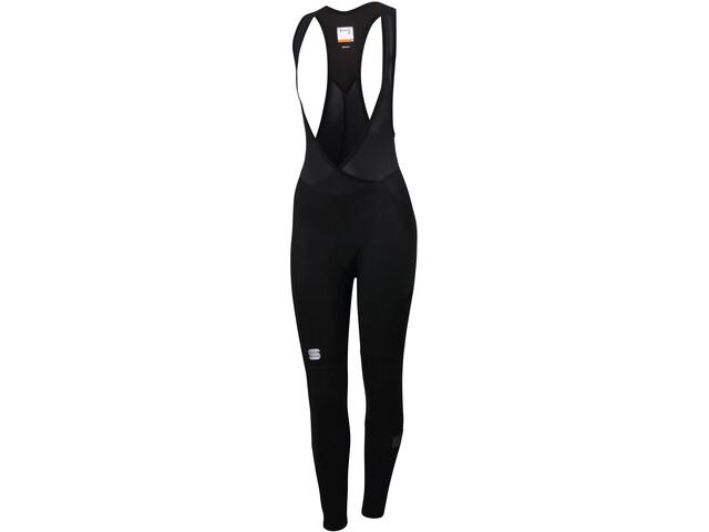 Sportful Giara Spodnie 3/4 na szelkach Kobiety, black